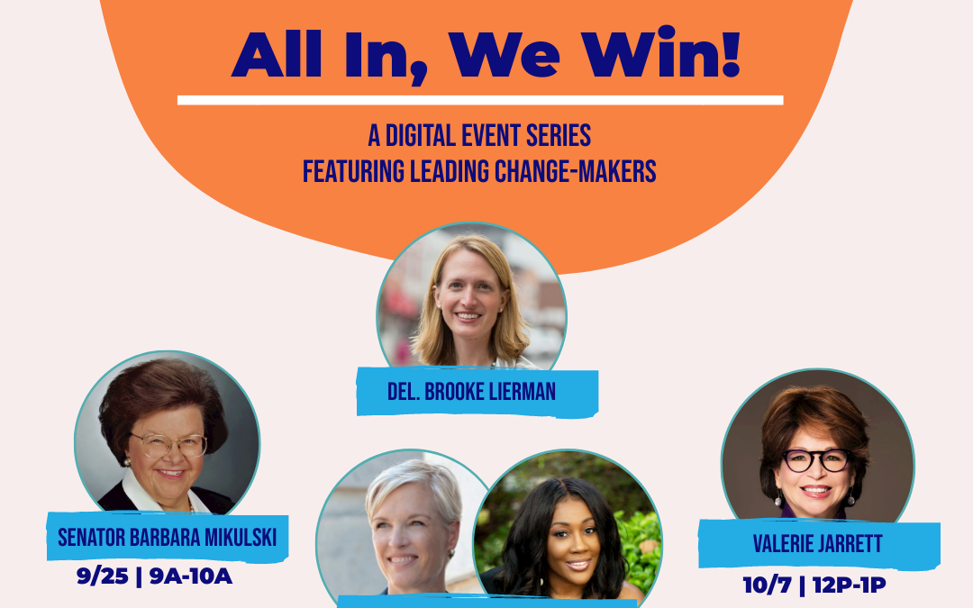 All in, We Win! A Digital Conversation Series