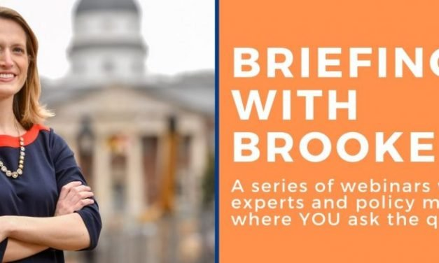 Briefings with Brooke – Online!