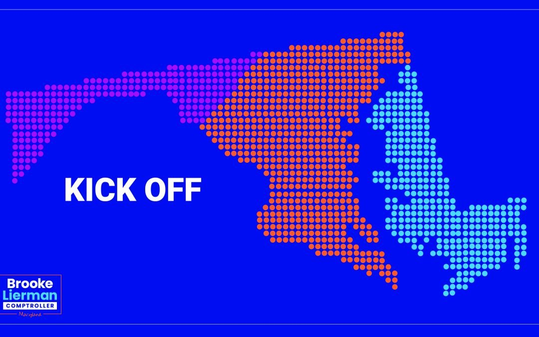Join Brooke's regional campaign kick-offs January 4th-8th