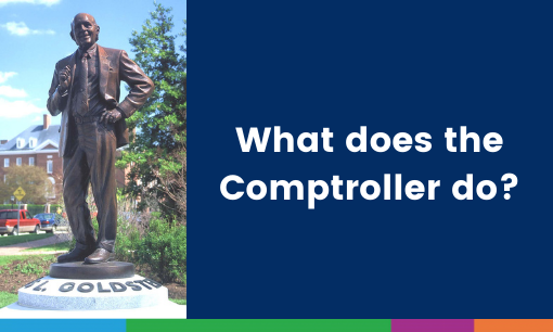 What Does The Comptroller Do?