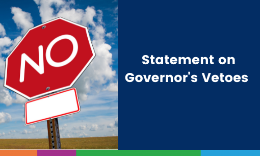 Statement of Governor's Vetoes